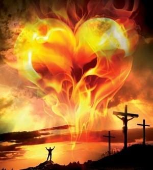 Burning Love for Jesus