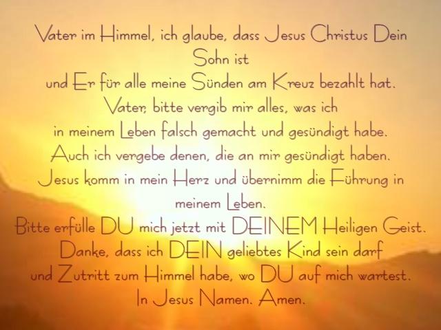 Gebet 2