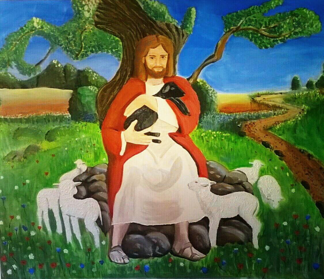 Geborgen in Jesu Armen