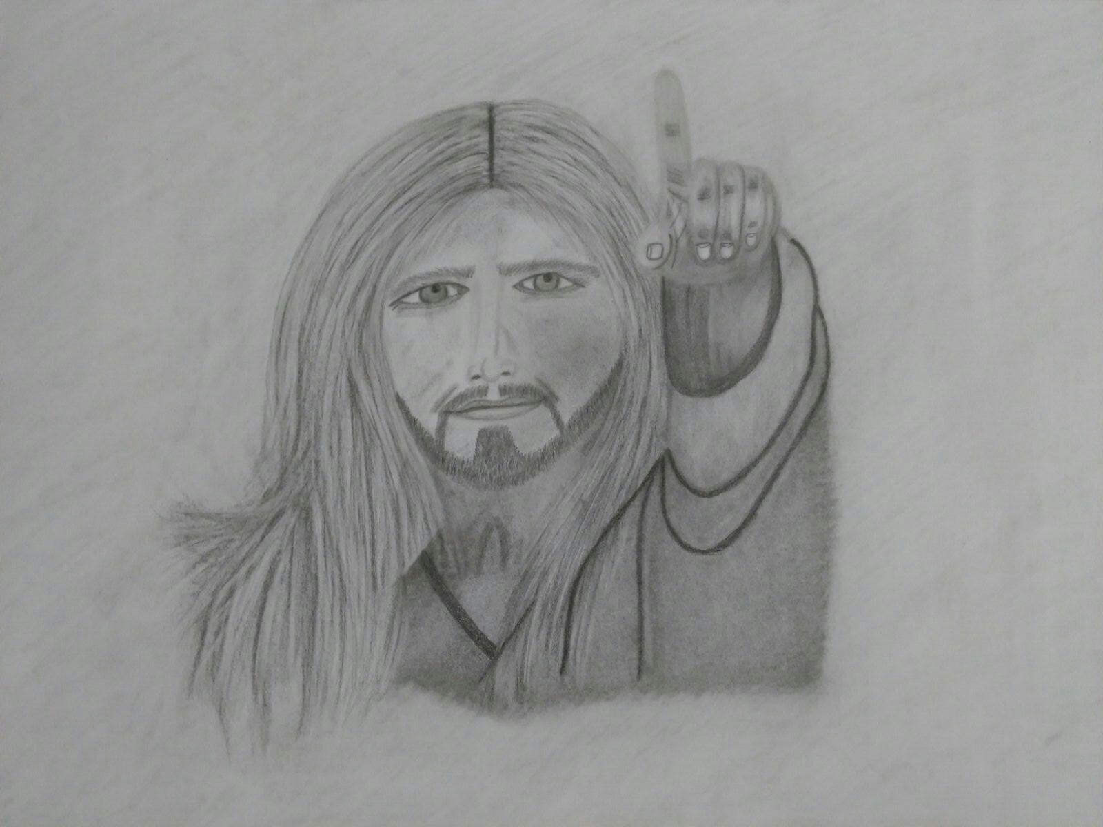 Wieder ein Bild vom Herrn, gemalt von Anastasia