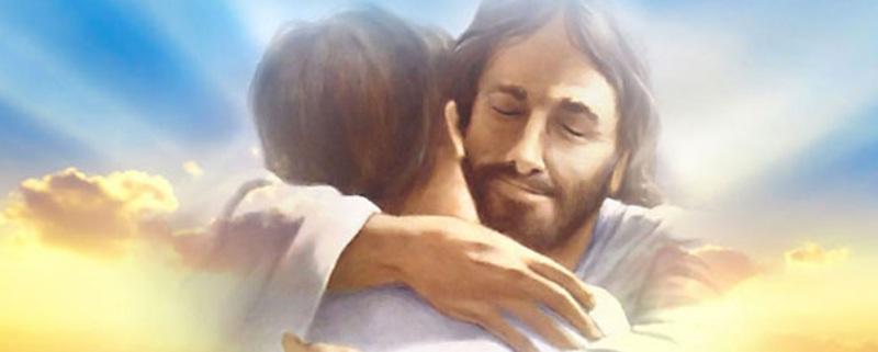 Jesus heisst dich herzlich willkommen - Jesus welcomes you from the bottom of His Heart
