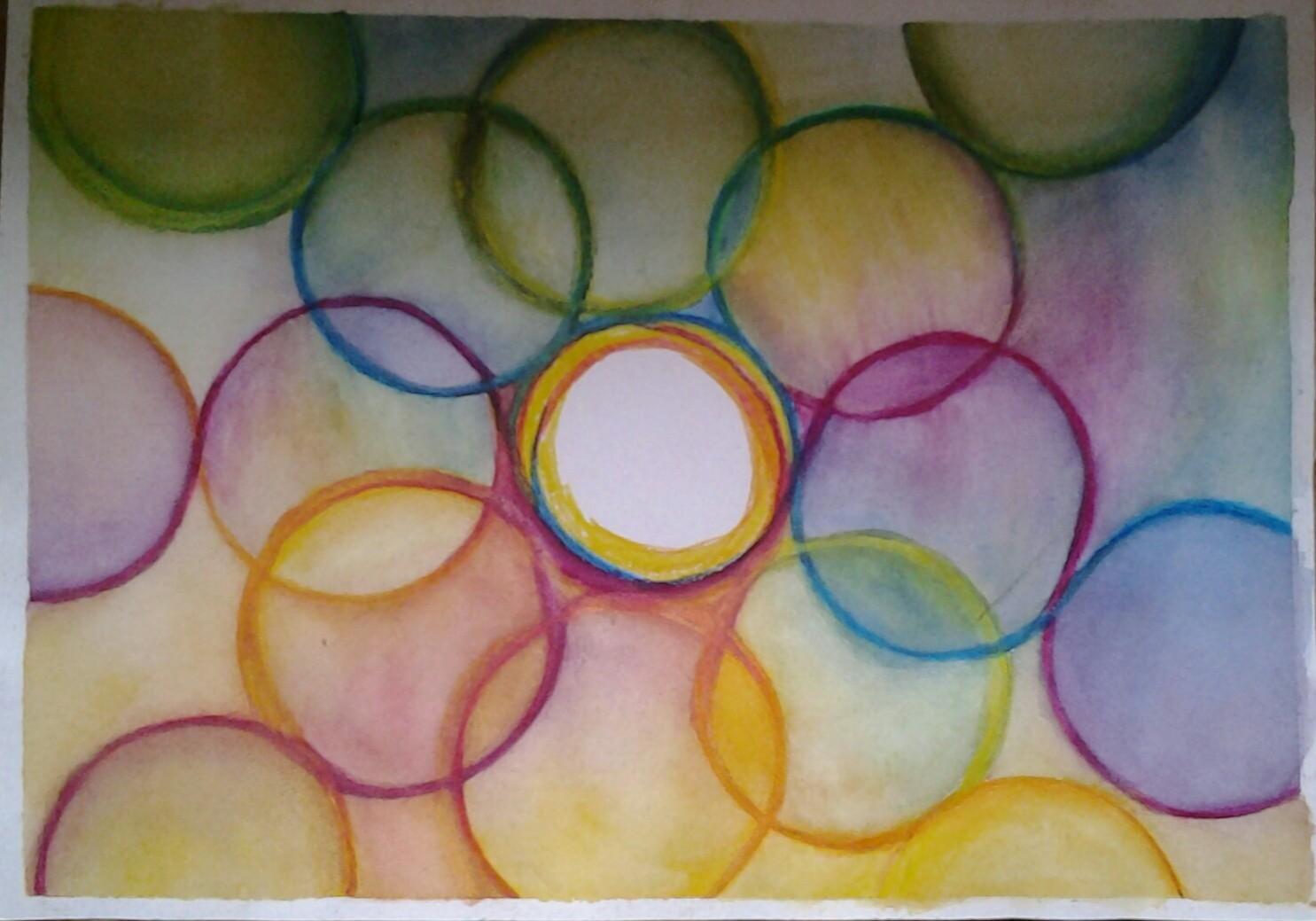 Farbenfrohe Bilder von Anna